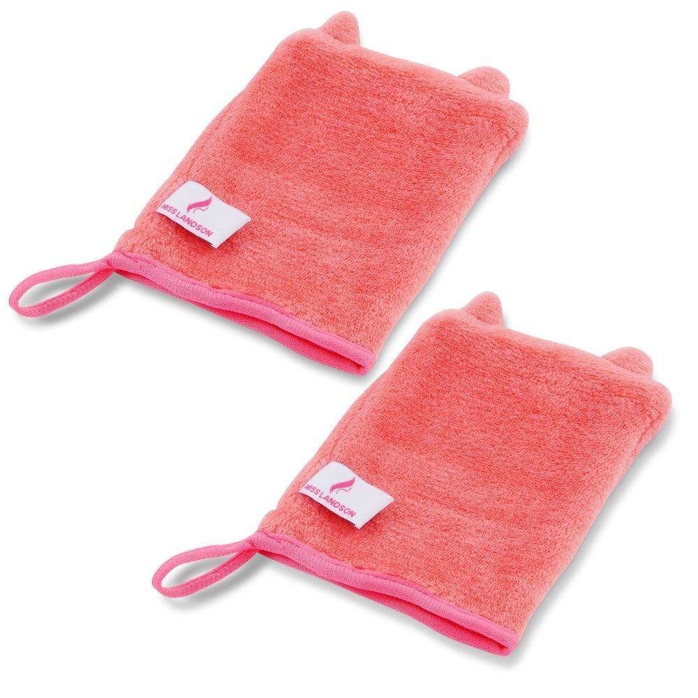 Makeup Remover Mitt 2Pack with Just Water Remove Make up