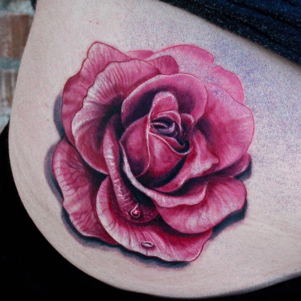 pink tattoos