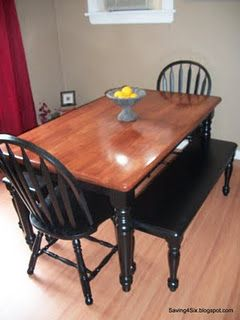 Dining Table Refinishing Ideabeen Looking For One Of These I Mesmerizing Kitchen Table Chairs Inspiration Design