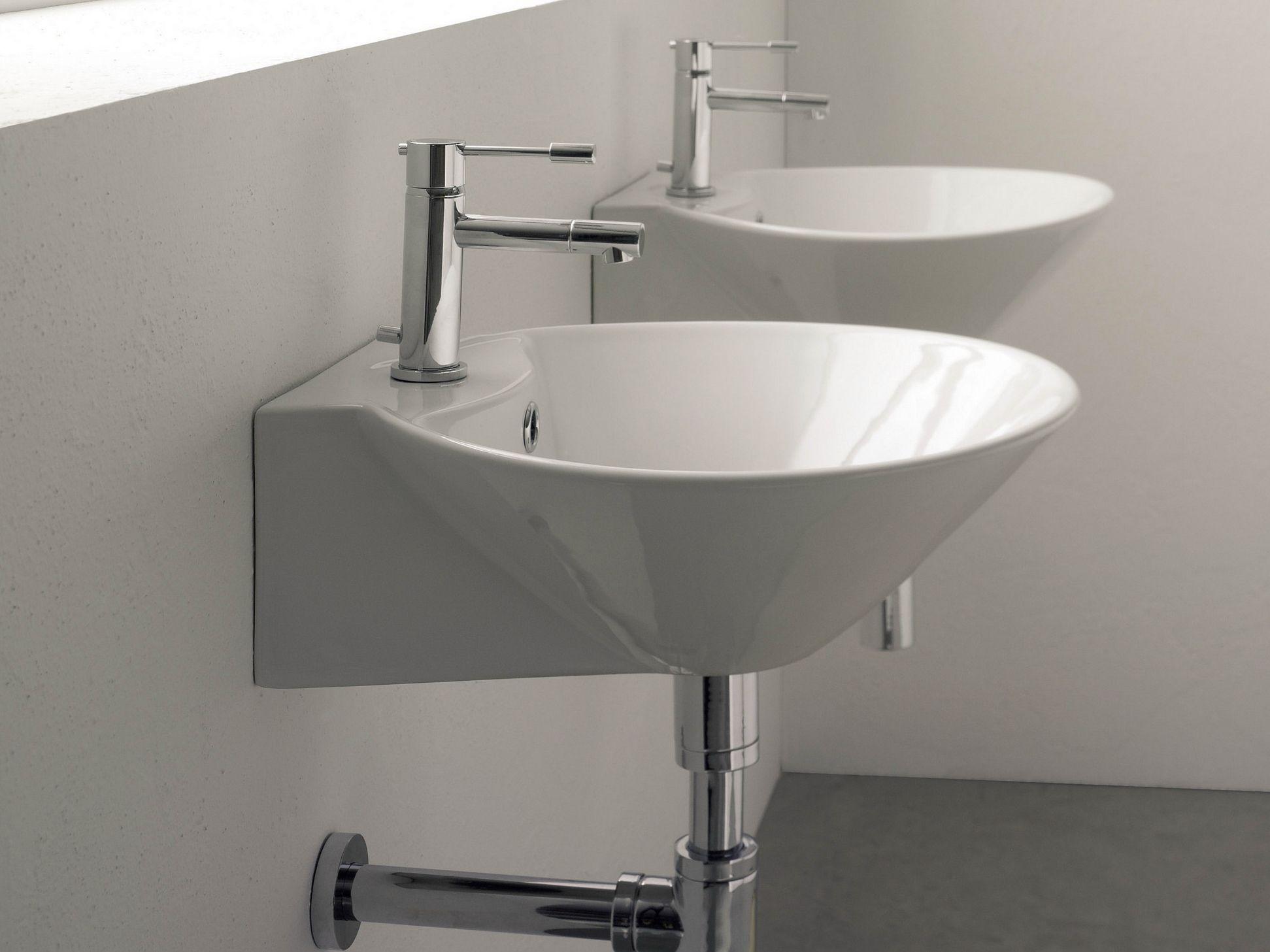 Salle De Bain Giovanni ~ lavabo en c ramique cono r by scarabeo ceramiche design giovanni