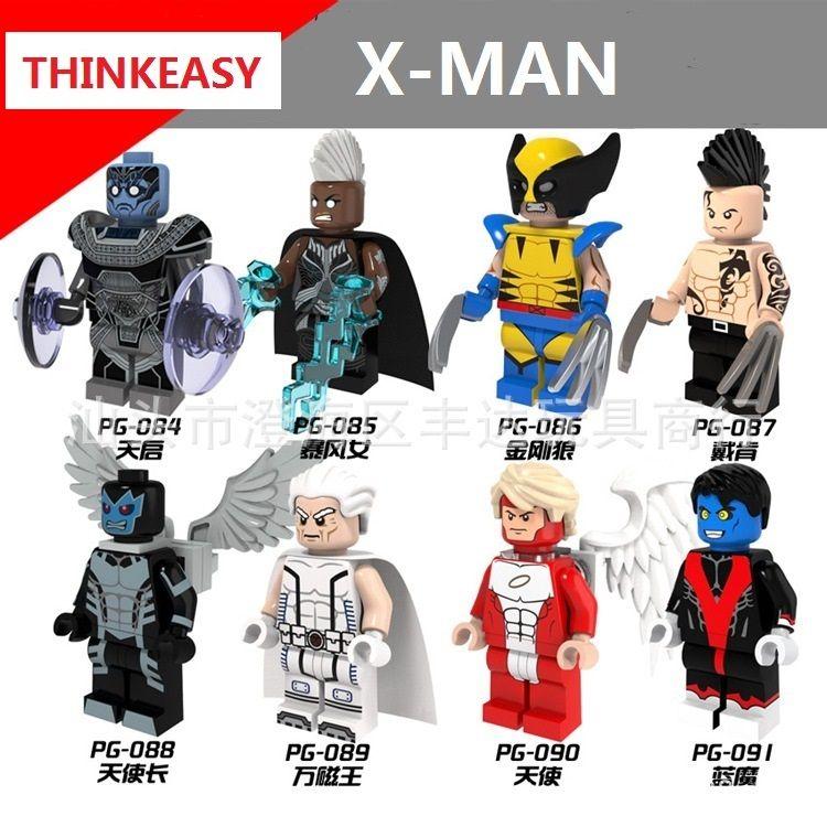 Nightcrawler X-Men movie minifigure TV show Marvel Comic toy figure!