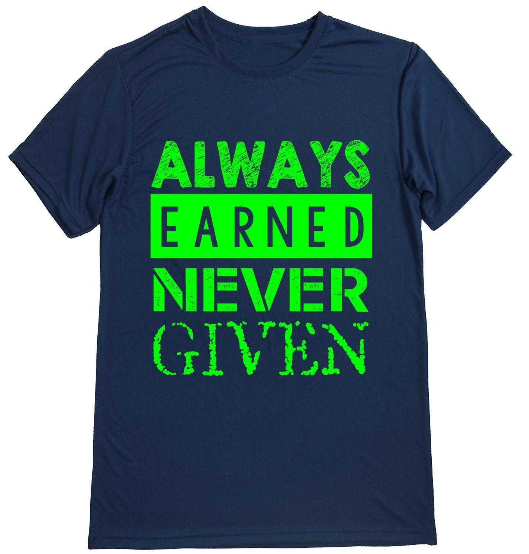 Performance Dry Sports Shirt â Men Runners Tshirts Running Quotes