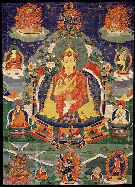 Один из пяти великих тертонов-царей - Сангье Лингпа | Buddhism ...