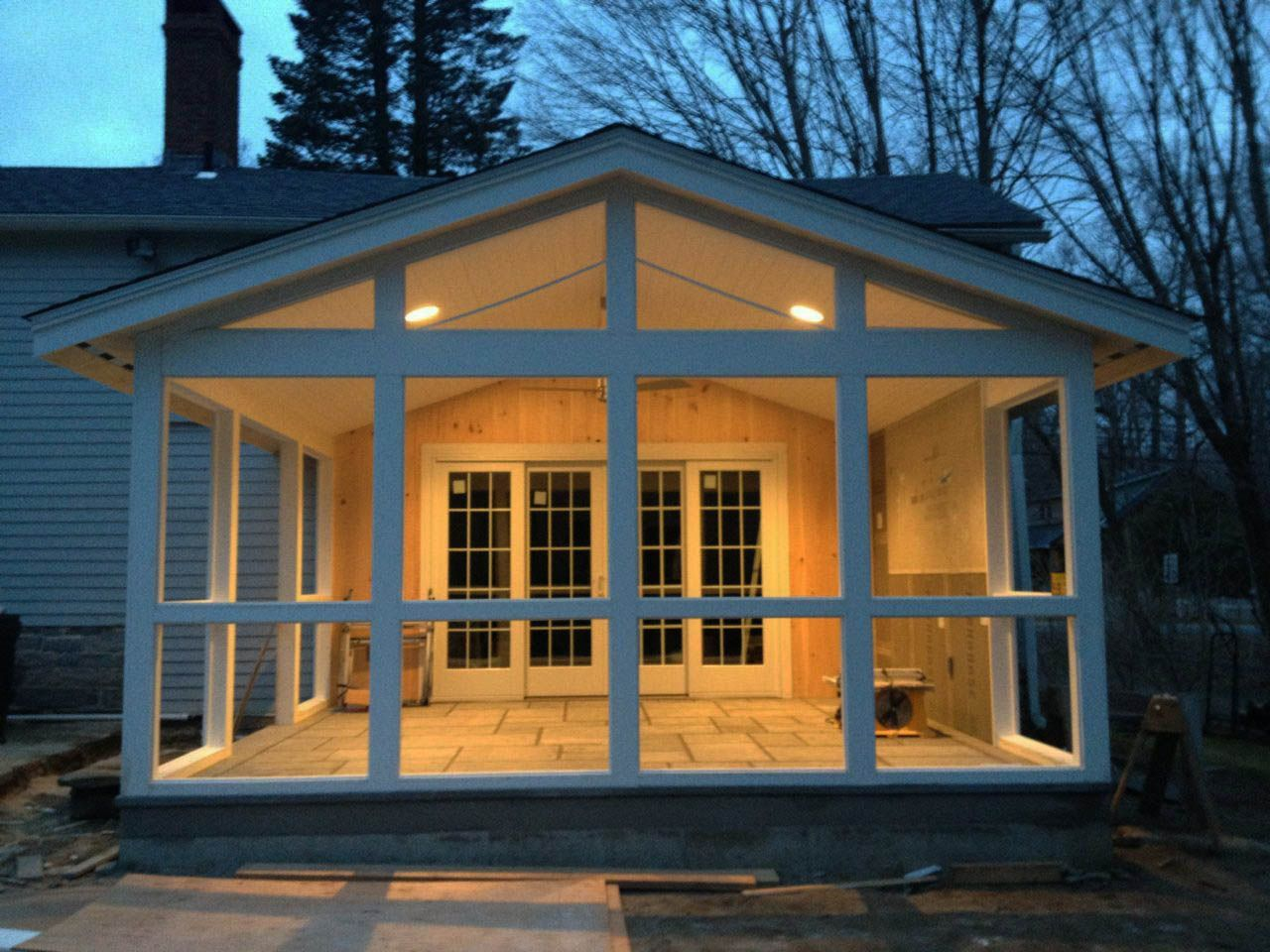 12 Seductively Calm Screened Porches Hus Hytte Oppussing