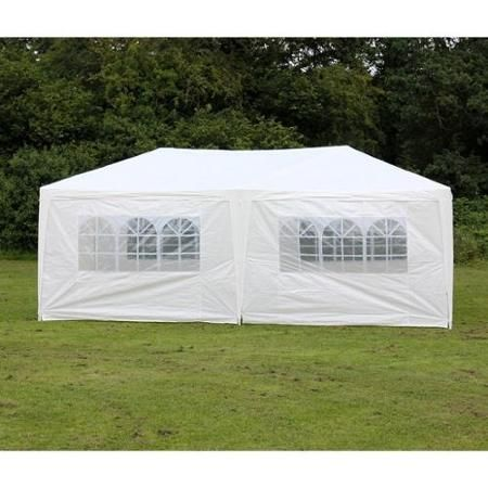 Palm Springs Outdoor 10 X 20 Wedding Party Tent Gazebo Canopy With Sidewalls Walmart Com Canopy Outdoor Canopy Tent Gazebo Canopy