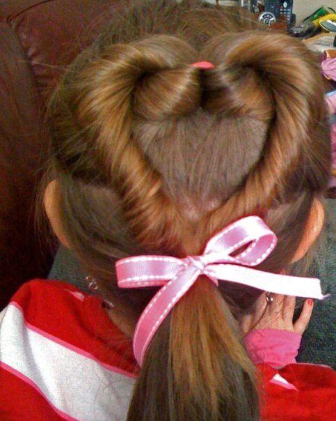 Schön 10 Valentineu0027s Day Hairstyles For Kids