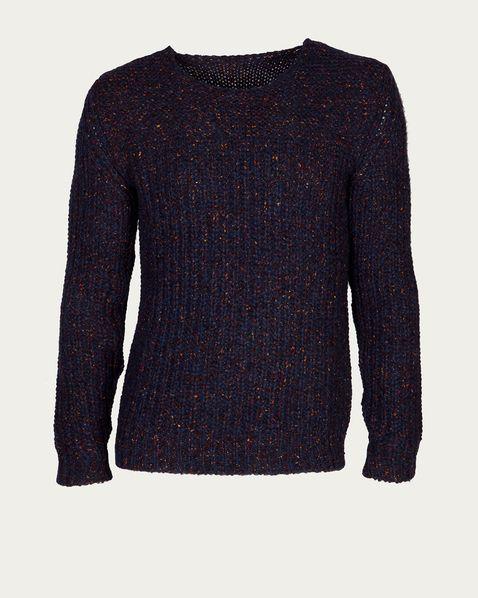 NUUR Grobstrick-Pullover blue