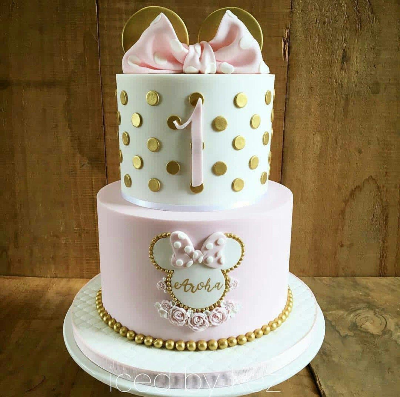 Groovy For Peanuts First Birthday Minnie Mouse Birthday Cakes Birthday Funny Birthday Cards Online Necthendildamsfinfo