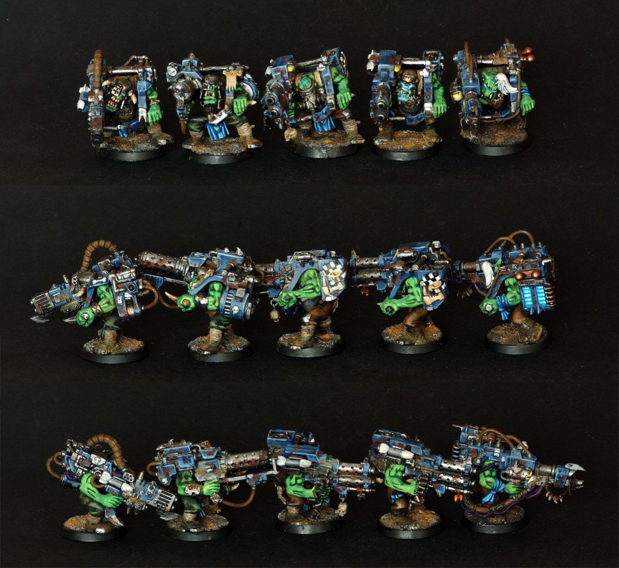 5X Ork Lootas Pro Painted Ork ORCS WH40K 40K eBay Mini