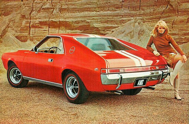 1968 American Motors Amx Muscle Cars American Motors Classic