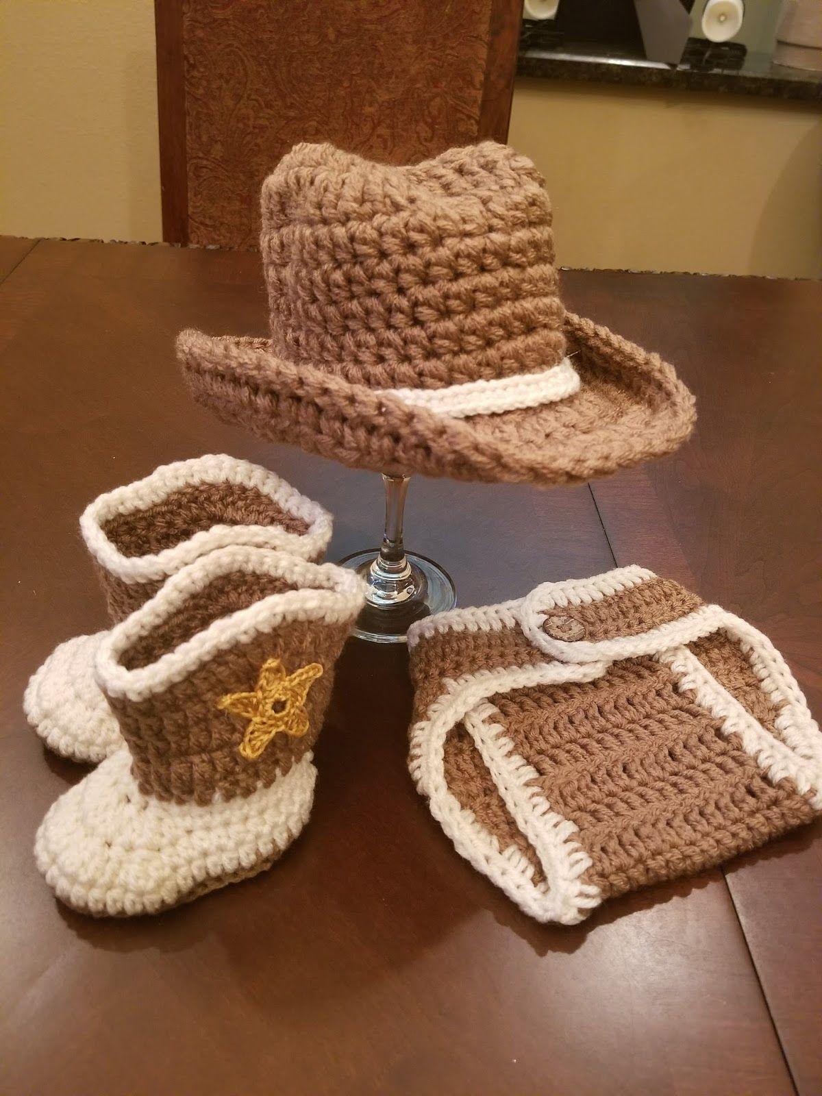cowboy hat crochet sombrero vaquero pattern # 3