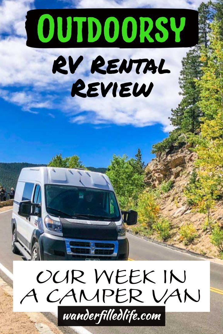 Outdoorsy Rv Rental Review Our Wander Filled Life Rv Rental Outdoorsy Rv