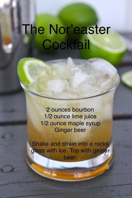 Photo of Winter Recipe: The Nor'easter Cocktail