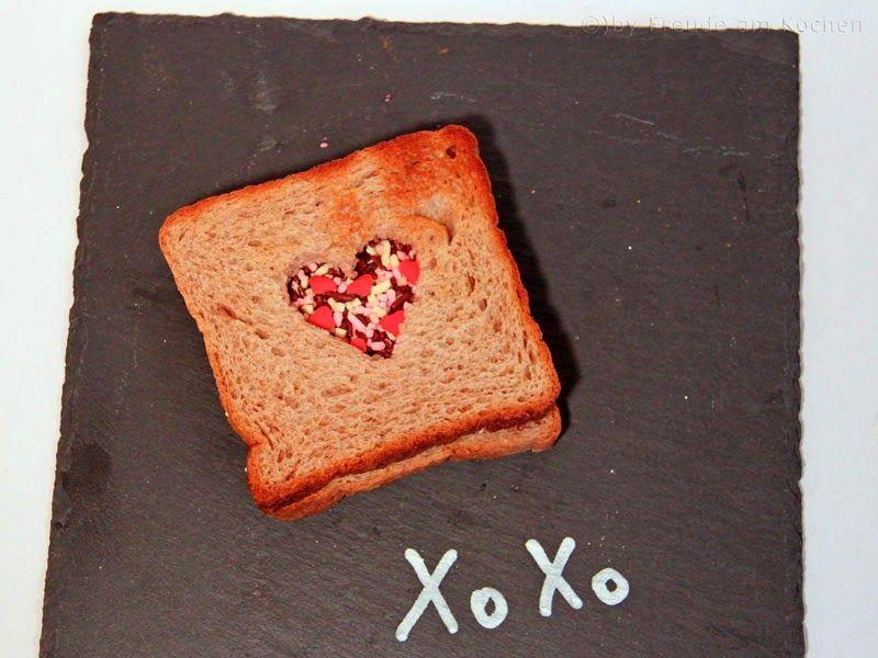 Valentinstag Herz Toast   Freude Am Kochen