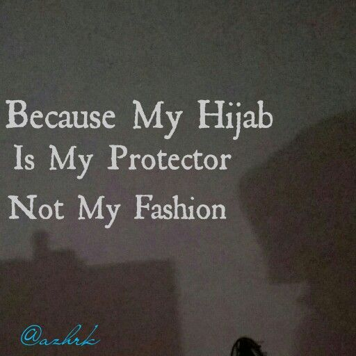Because My Hijab Is My Protector Not My Fashion Dentistry Student Hijab Protector
