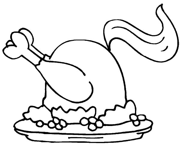 Spicy Fried Chicken Coloring Pages Download Print Online Coloring Pages For Free Color Nimbus In 2020 Chicken Coloring Pages Food Coloring Pages Chicken Coloring