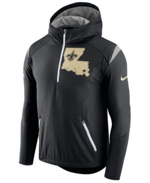 official photos 77018 4d0bf Nike Men's New Orleans Saints Lightweight Fly Rush Jacket ...