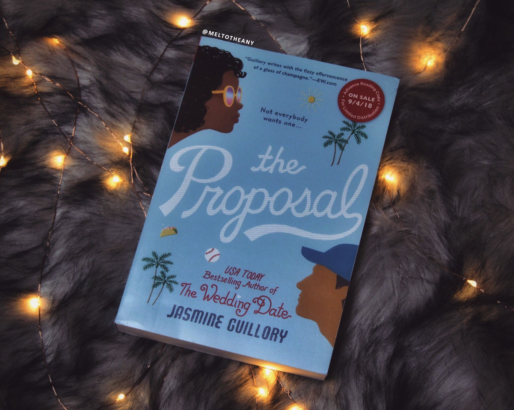 The Proposal by Jasmine Guillory (meltotheany) Reading