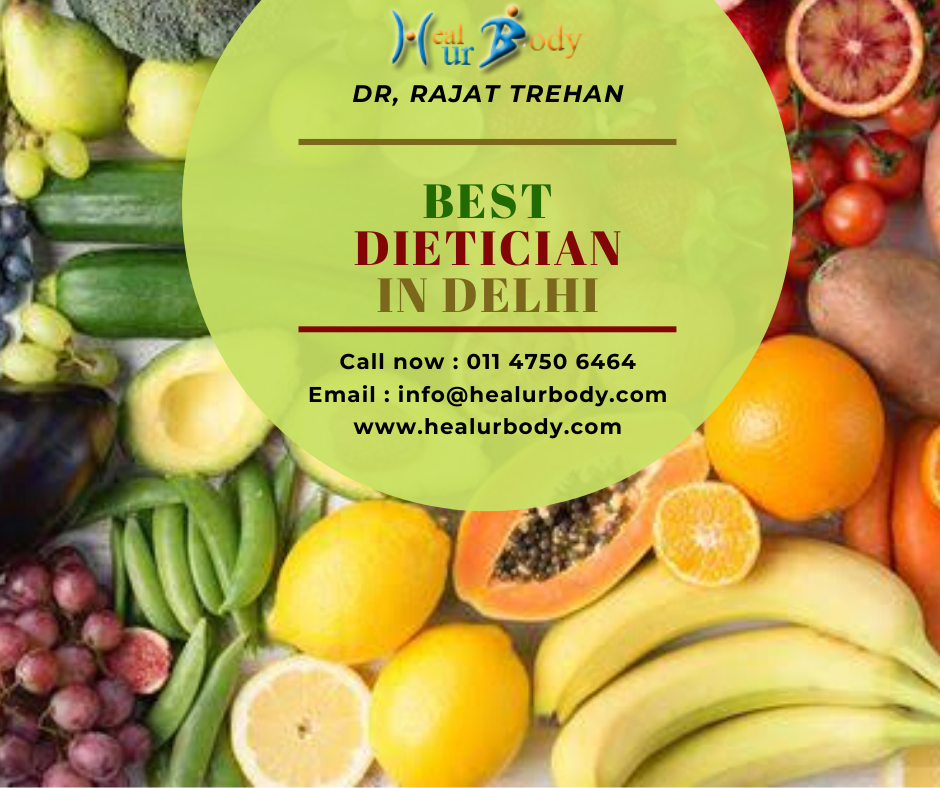 Contact the best dietician in Delhi, Dr. Rajat Trehan who knows well about diet and its proper intak...