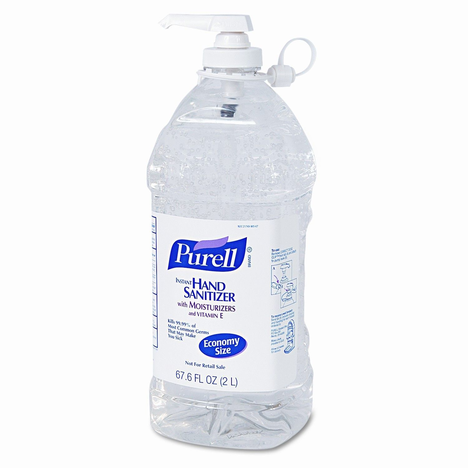 Purell Instant Hand Sanitizer 2 Liter Products Bottle Hand
