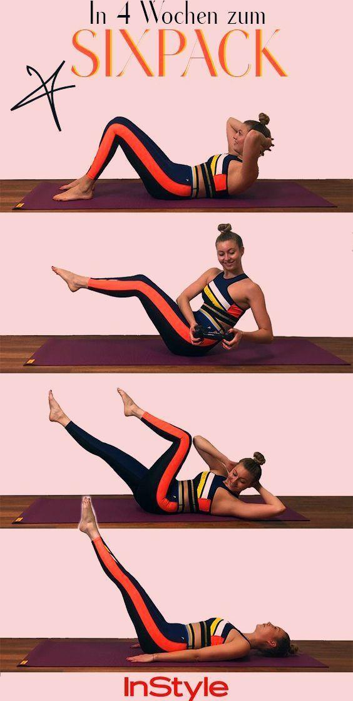 Sixpack: Diese 4 Fitnessübungen machen es möglich! #sport #fitness #wellness #