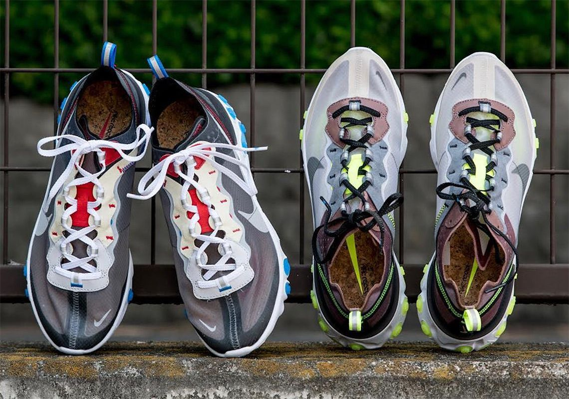 ef64d0e295cd Nike React Element 87 Dark Grey Desert Sand Release Info  thatdope   sneakers  luxury  dope  fashion  trending