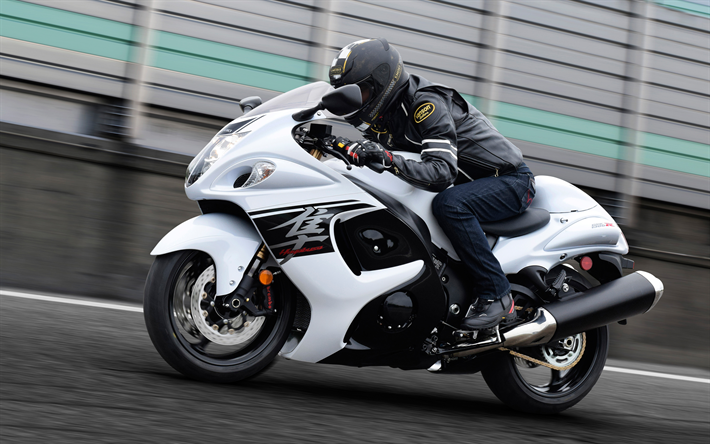 Download wallpapers 2018, Suzuki Hayabusa, ABS, GSX1300RA