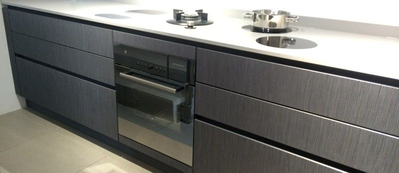 Best Ex Display Eggersmann Luxury Kitchen In Grey Oak With 400 x 300