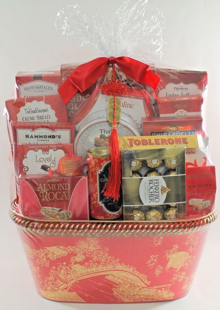 Lunar new year good luck large gift basket from costco please read lunar new year good luck large gift basket from costco please read negle Images