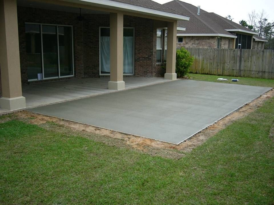 concrete patio ideas backyard find this pin and more on patio ideas cement patio concrete patio
