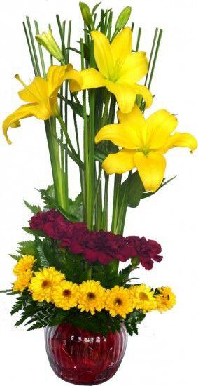 Torre Floreada Arreglos Florales Bellos Arreglos