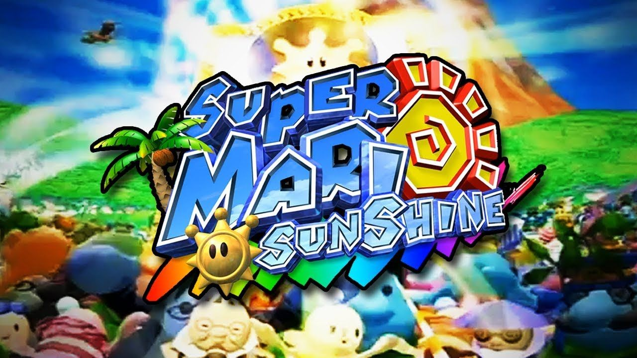 Super Mario Sunshine 4k 60FPS with HD Textures | gaming