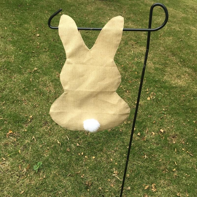 Wholesale Blanks Easter Bunny Garden Flag Linen Jute Garden Decoration DOM103447 Jute Garden Flag Burlap Garden Flag Easter Bunny Garden Decoration Online with $325.0/Piece on Domildiscountshop's Store | DHgate.com