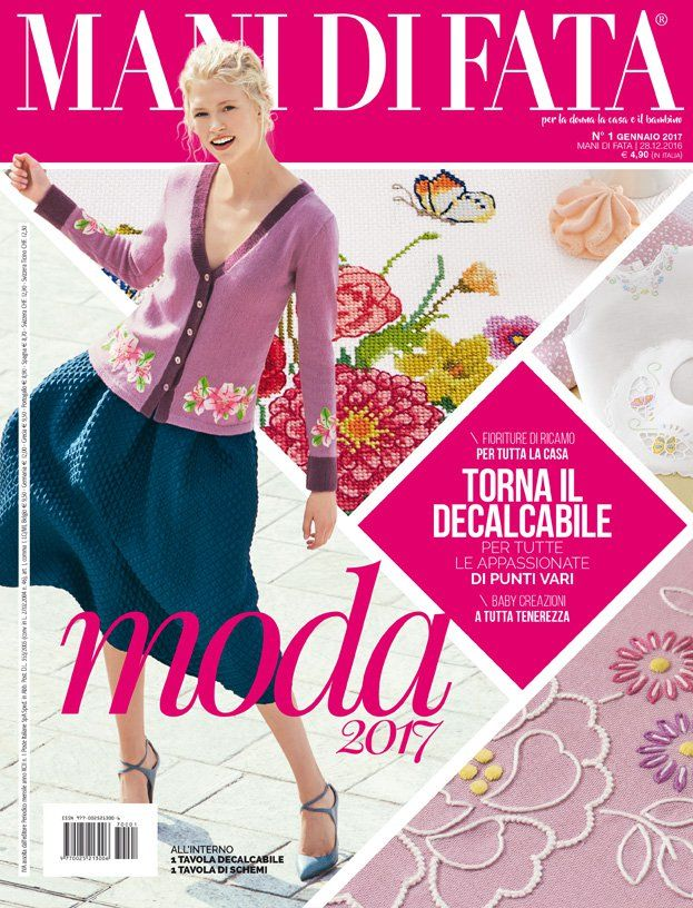 MANI DI FATA DI GENNAIO 2017 könyv Pinterest