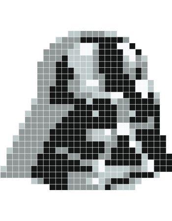 Darth Vader Pixel Art Google Search Star Wars Crochet