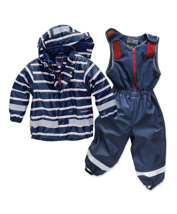 a83958b9 Regndress fra Didriksons m fleece for #barnehage #tørrogvarm #praktisk  #barneklær #bagnogleker.no