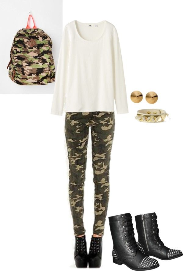 """ready for combat"" by dew-mountain on Polyvore"