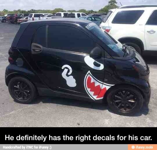 Totally awesome car decals