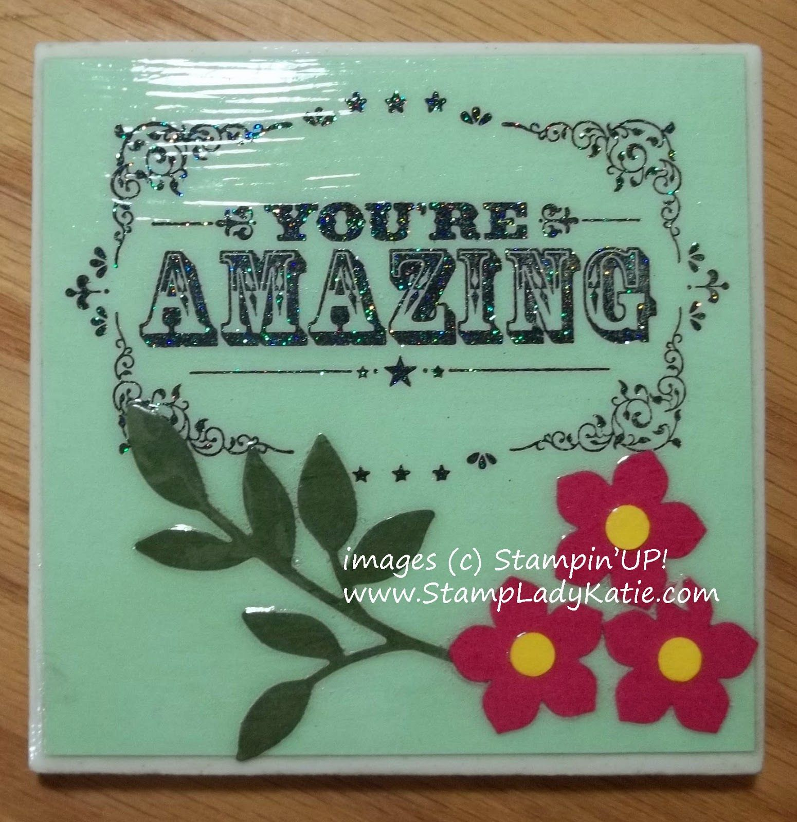 Tile Coaster . . . best place to buy them is Habitat for Humanity Re ...
