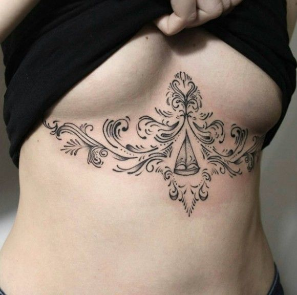 scrolling sternum sailboat tattoo tattooforaweek blog pictures pinterest tattoo sternum. Black Bedroom Furniture Sets. Home Design Ideas
