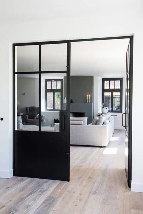 glass door designs for living room pocket stijlvol wonen more more door design house glass door living room inspiration des portes vitres style atelier interior designs