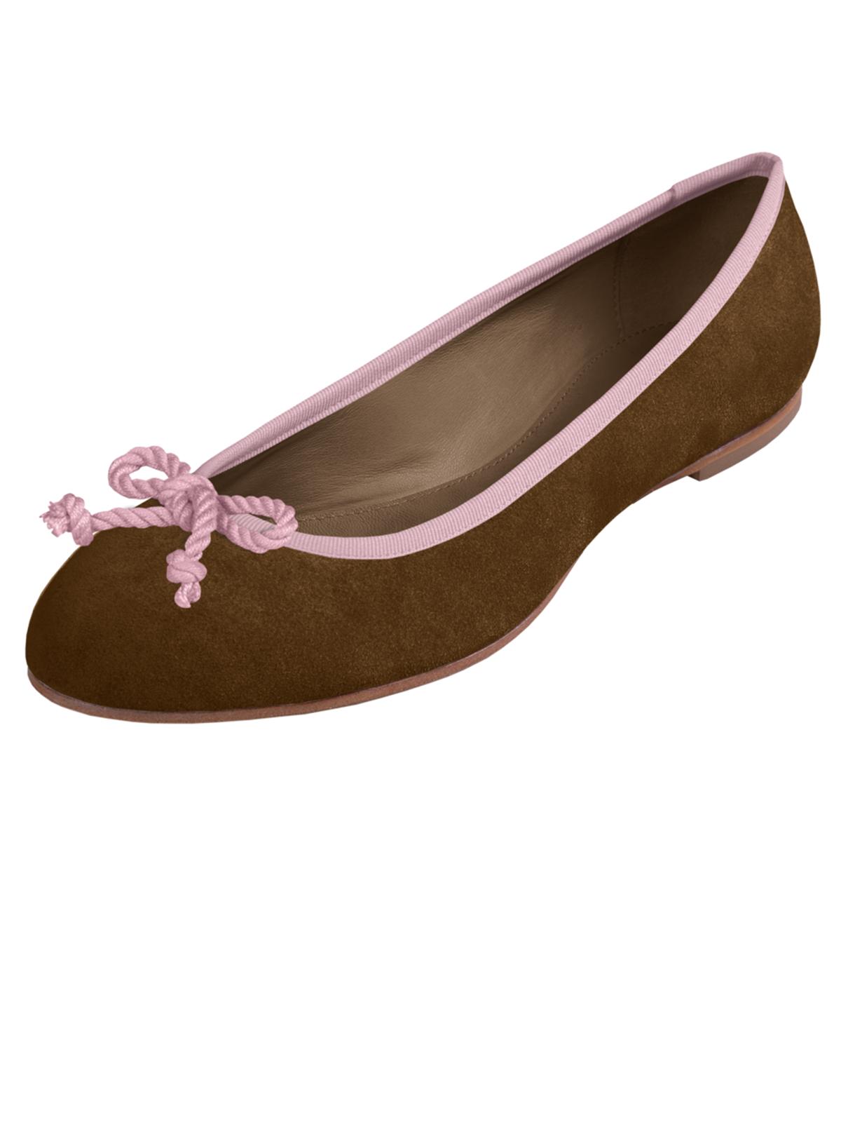 Braune Ballerinas von LIMBERRY