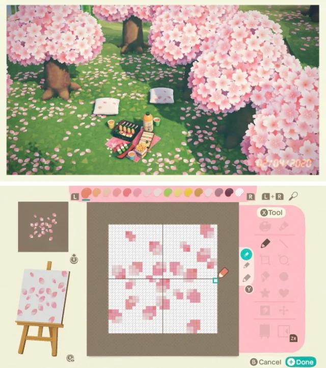 Cherry Blossom Petals Animalcrossing Animal Crossing Animal Crossing 3ds Animal Crossing Wild World