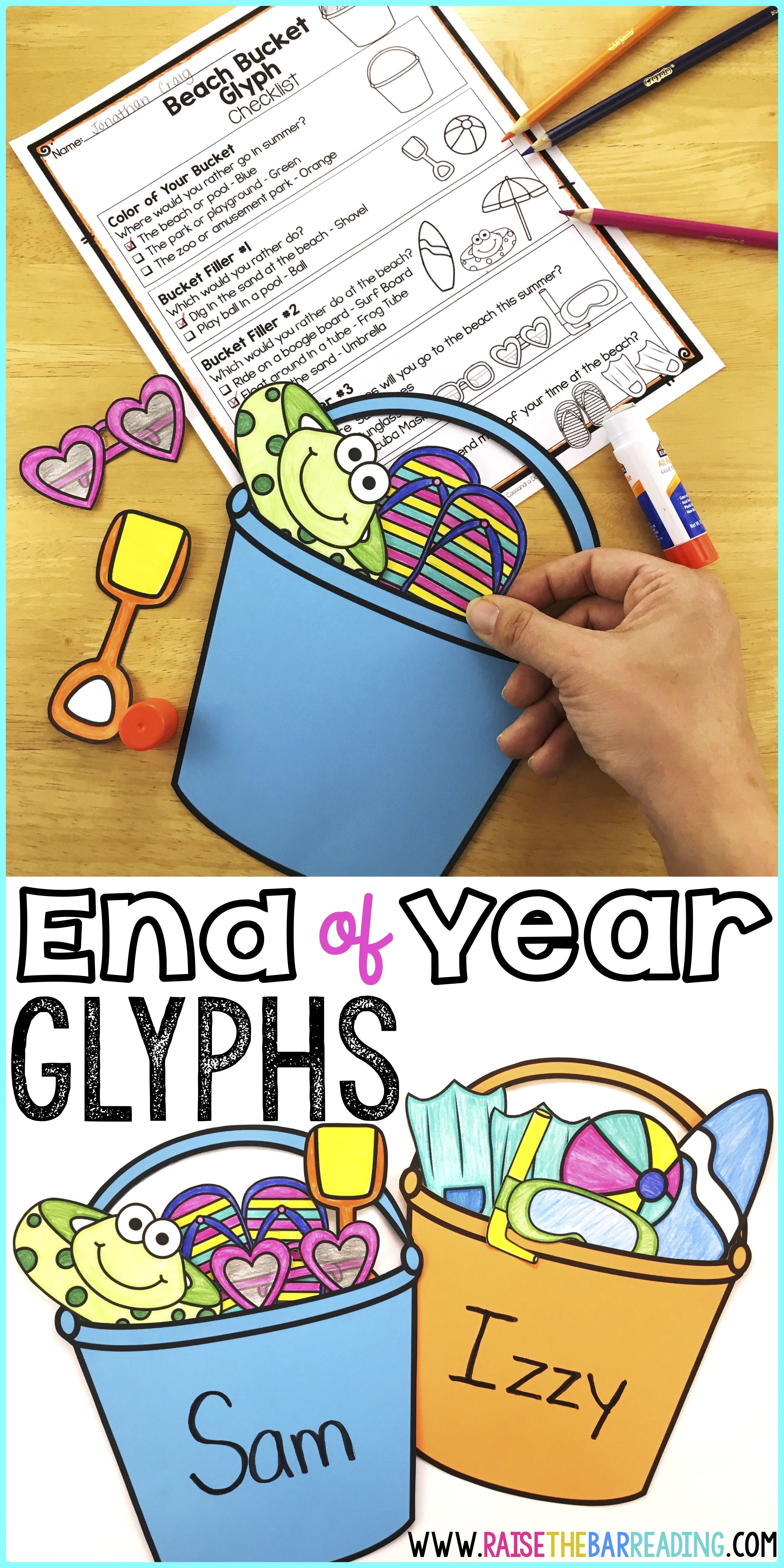 Low Prep End Of Year Activities For Elementary Students