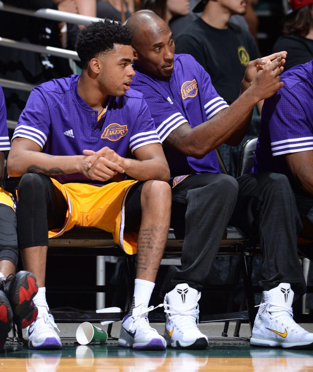 d64787d4063e D Angelo Russell — Nike Kobe X Kobe Bryant — Nike Kobe X Elite