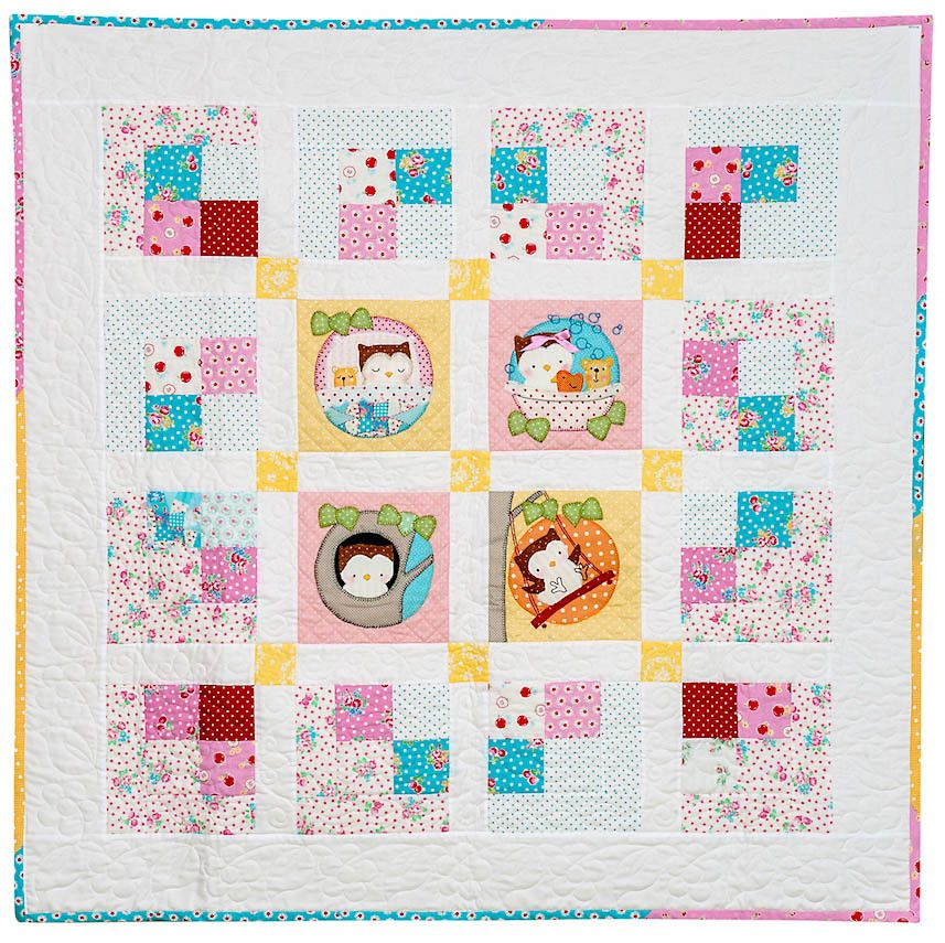 Good Morning Owl Quilt. - Red Brolly   Quilts   Pinterest