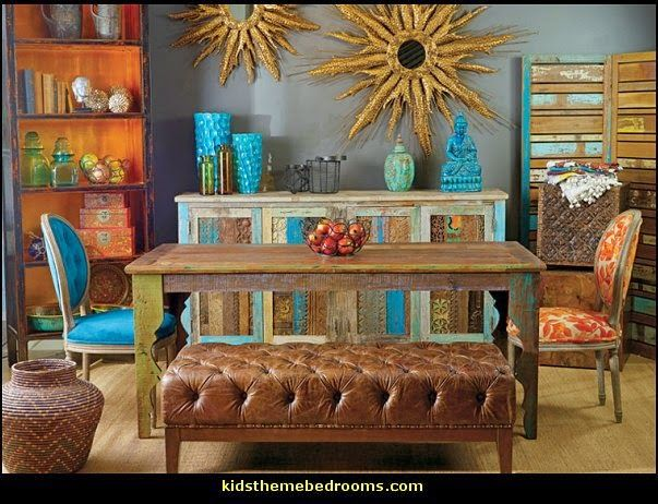 Global Bazaar Decorating Ethnic Style Oriental Theme