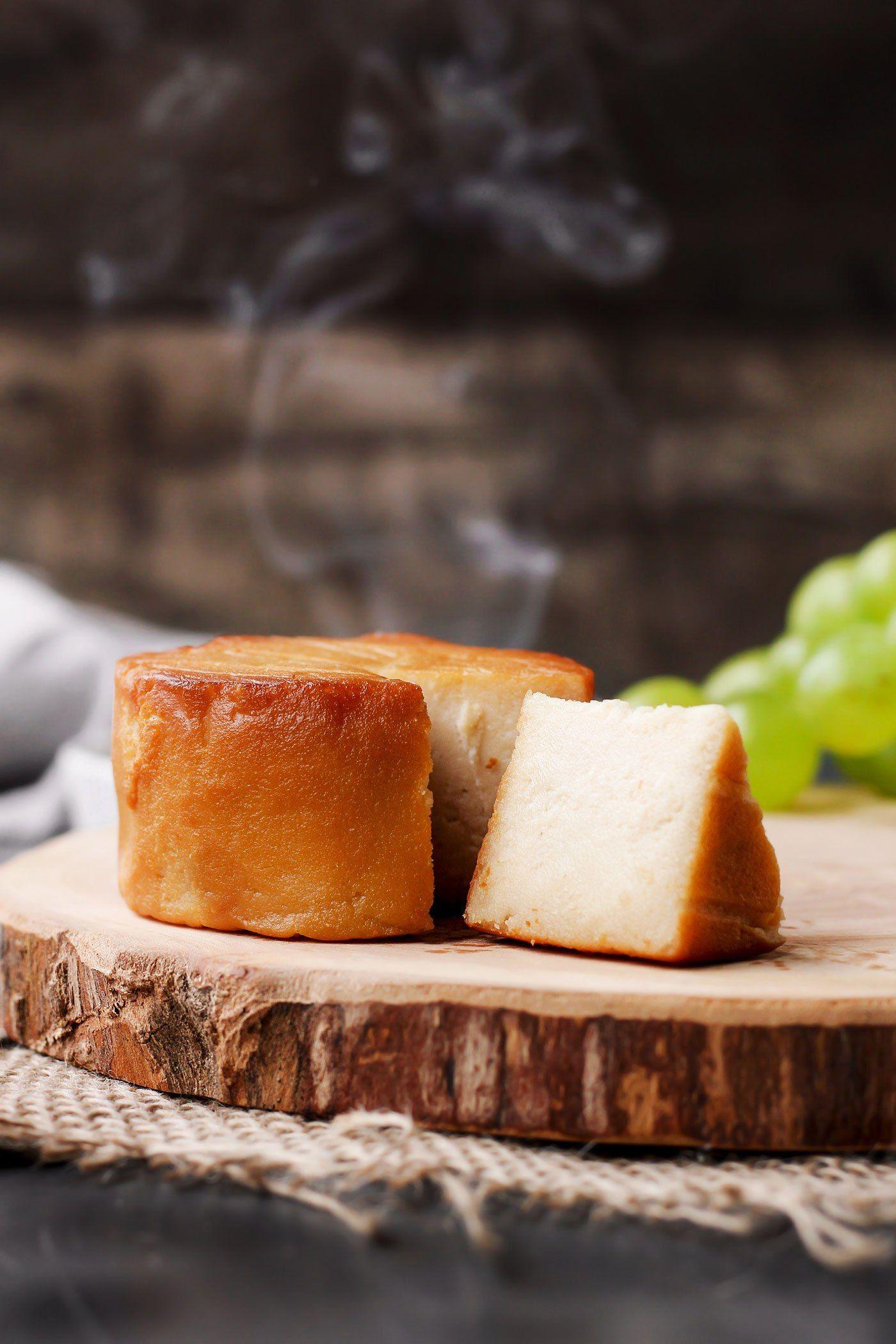 Hickory Smoked Vegan Cheese Full Of Plants Vegan Cheese Recipes Vegan Cheese Food
