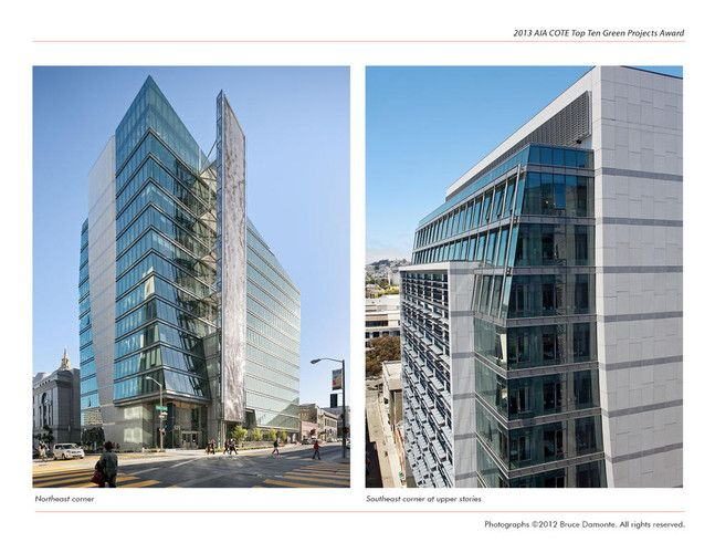 The top 10 green building projects of 2013 architecture for Top architects san francisco