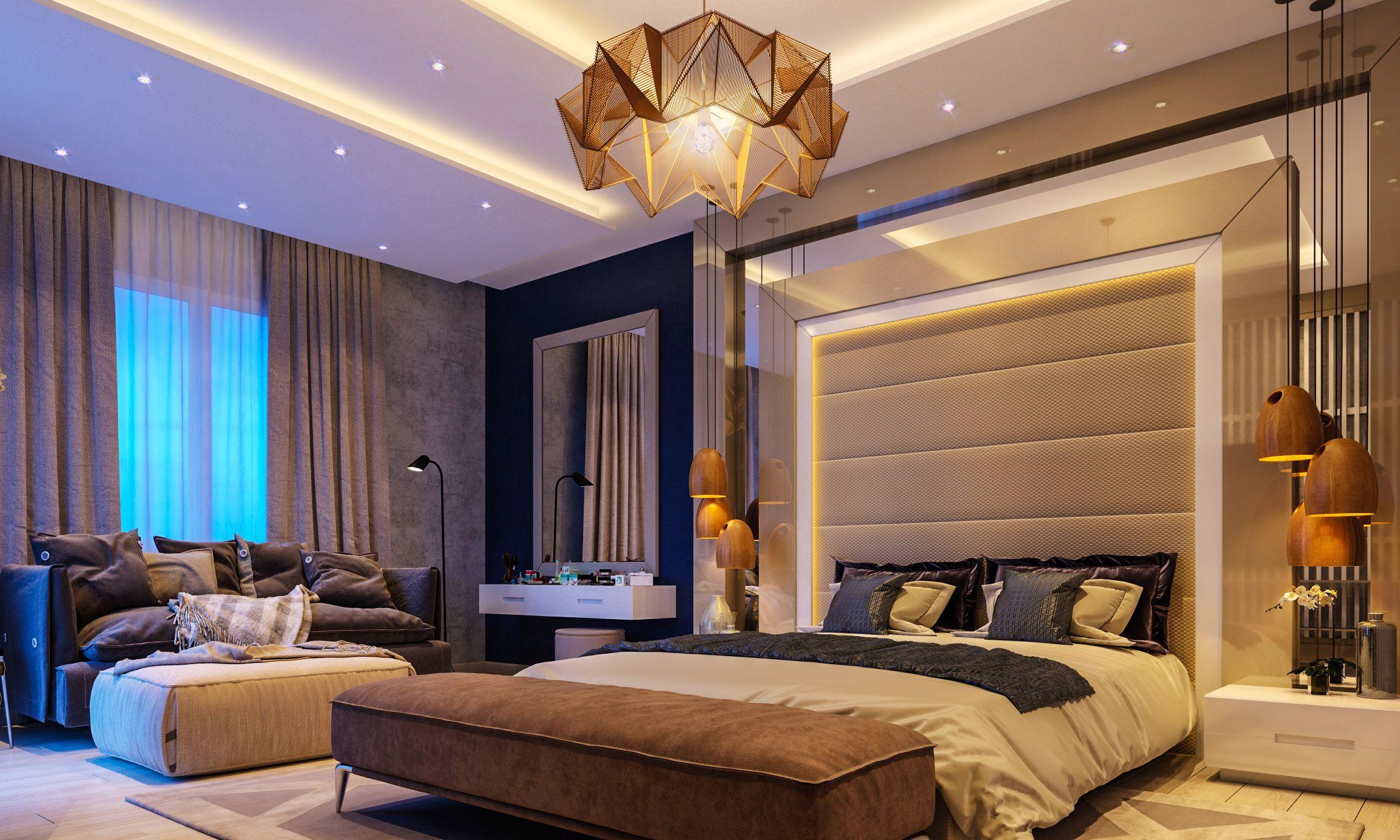 Luxury Modern Master Bedroom Interior Design Home Design Ideas